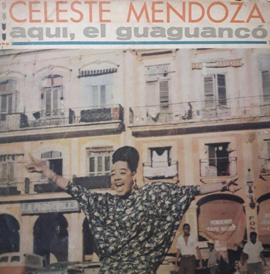 Portada del álbum Aquí, el guaguancó.