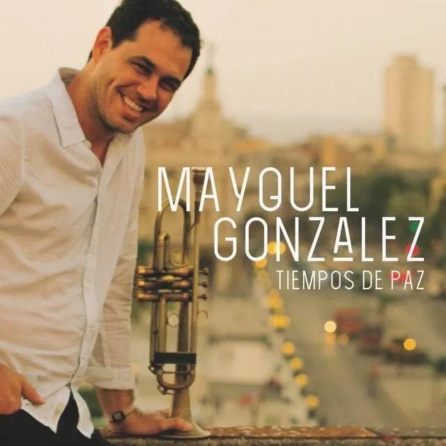 Portada del álbum Tiempos de Paz, de Mayquel González.