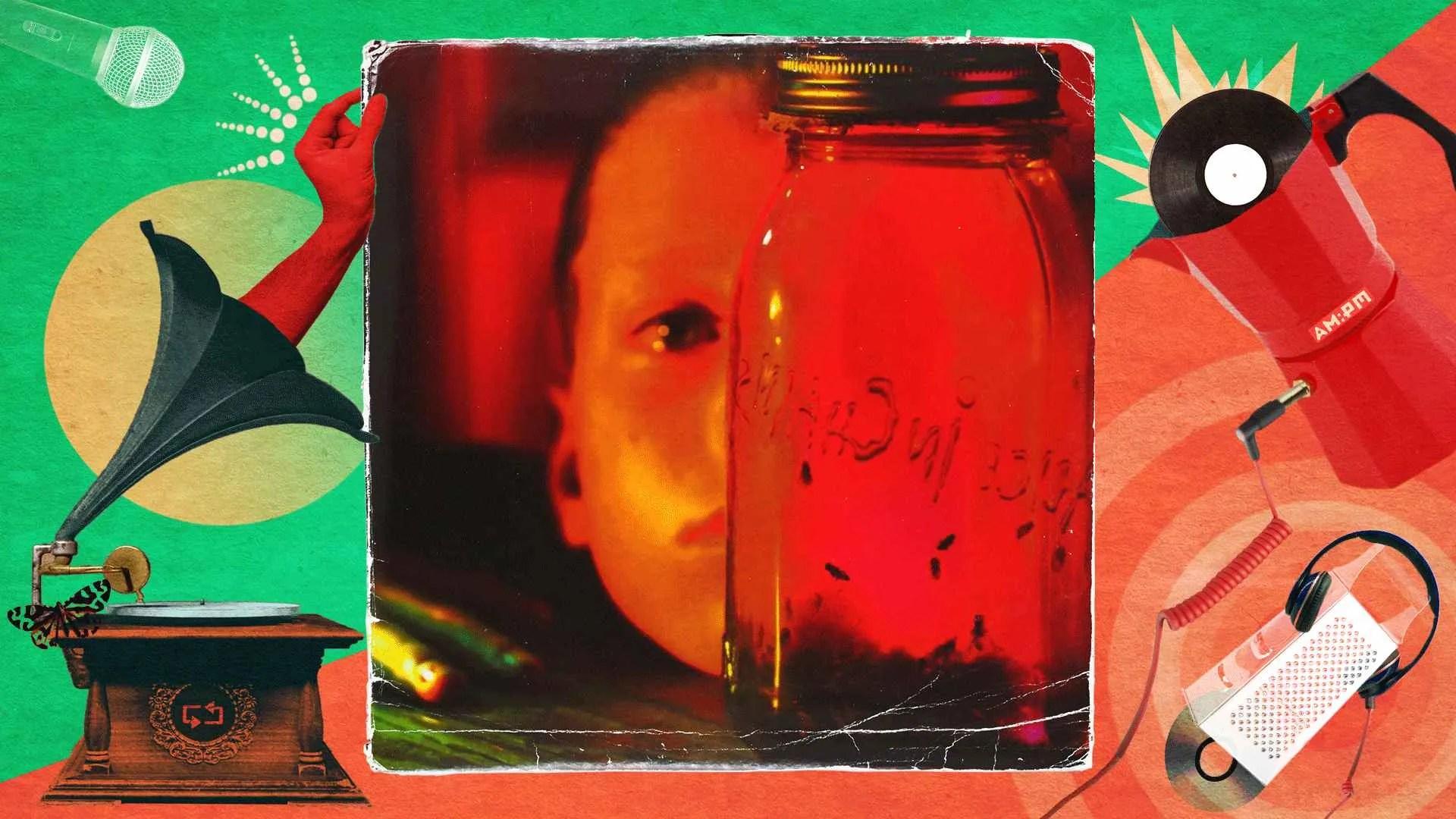 Diseño: Jennifer Ancizar, a partir de la portada del álbum Jar ofl flies.