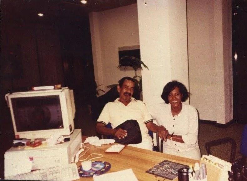 Rosa Marquetti junto a Pío Leyv. Foto: Archivo personal de Rosa Marquetti.