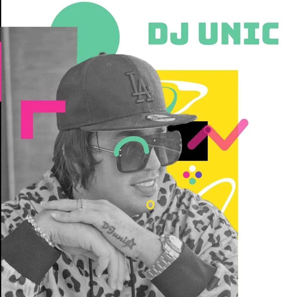 DJ Unic. Foto: Tomada de las redes sociales del artista / Diseño: Marlene P. Posada.