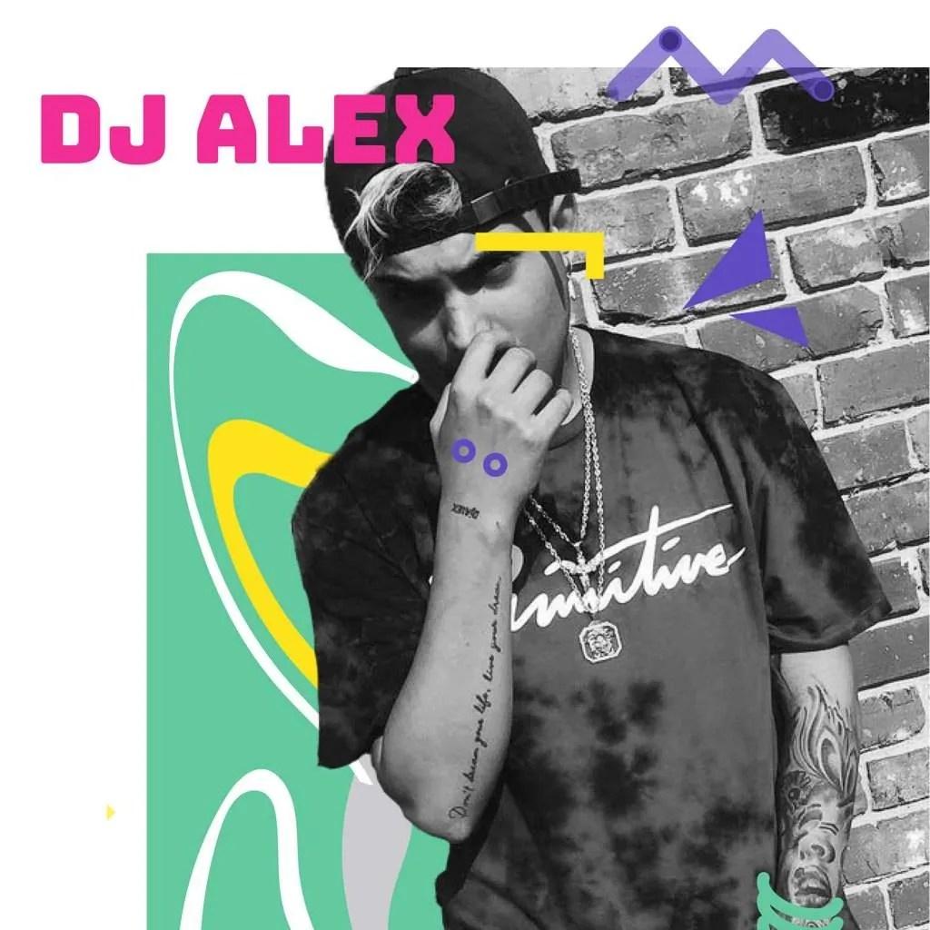 DJ Álex. Foto: Tomada de las redes sociales / Diseño: Marlene P. Posada.