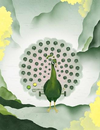 The Writer (Write Magazine). Honourable Mention, Illustration, 2012 National Magazine Awards