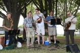 Best Ever Chicken+ playing not just bluegrass