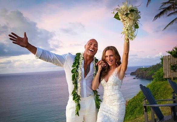 'The Rock' Dwayne Johnson Got Married