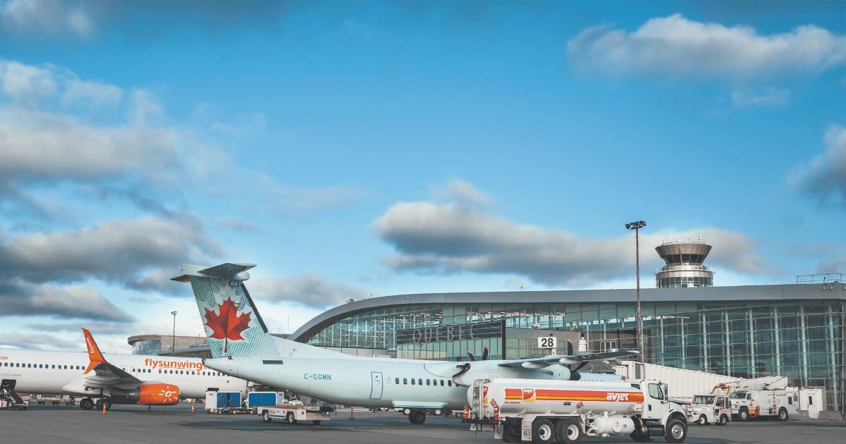 L'Aéroport international Jean-Lesage de Québec (YQB)