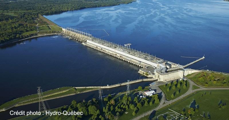 Centrale Carillon située sur la rivière Outaouais