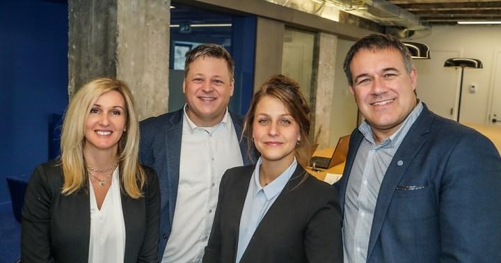 L'équipe Saimen basée à Montréal.