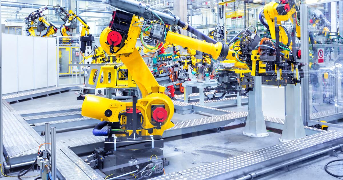 usine de robots
