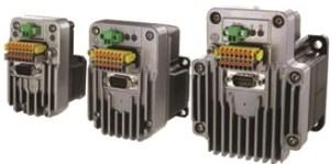 © Schneider Electric. Les moteurs hybrides Lexium MDrive de Schneider avec connecteurs débrochables.