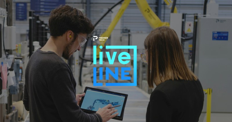 Liveline, le nouvel outil numérique de Premier Tech