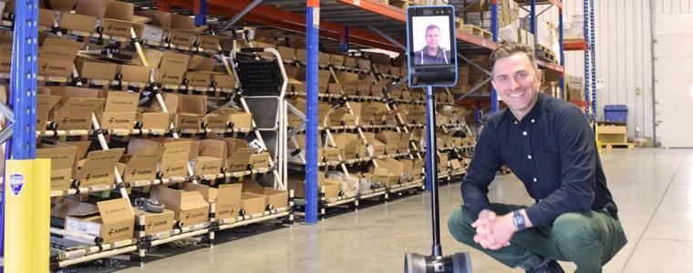 Robot de téléprésence Holo Robot