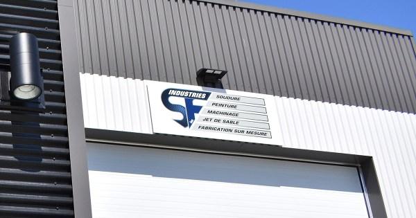 Nouvelle usine de Industries SF