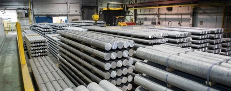 Entrepôt de tube d'aluminium de Shawinigan Aluminium