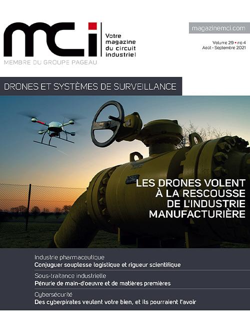 Couverture du Magazine MCI d'août et septembre 2021