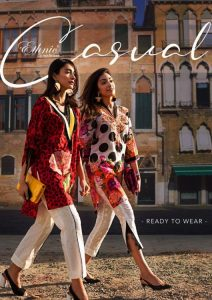 Ethnic by Outfitters Casual Ready to Wear Eid Catalogue 2018 (1)
