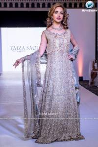 Faiza Saqlain Collection at PFE London 2018