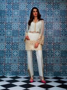 Luxury Eid Dresses Collection 2018 by Zainab Chottani (4)