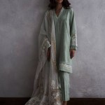 Nida Azwer Eid Festive Dresses Collection 2018 (9)