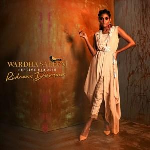 Wardha Saleem Festive Dresses Eid Dresses 2018 (17)