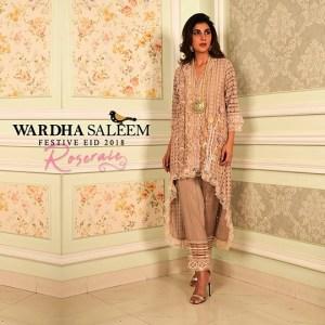 Wardha Saleem Festive Dresses Eid Dresses 2018 (4)