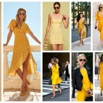 Yellow Colour Dresses Trend 2018 (1)