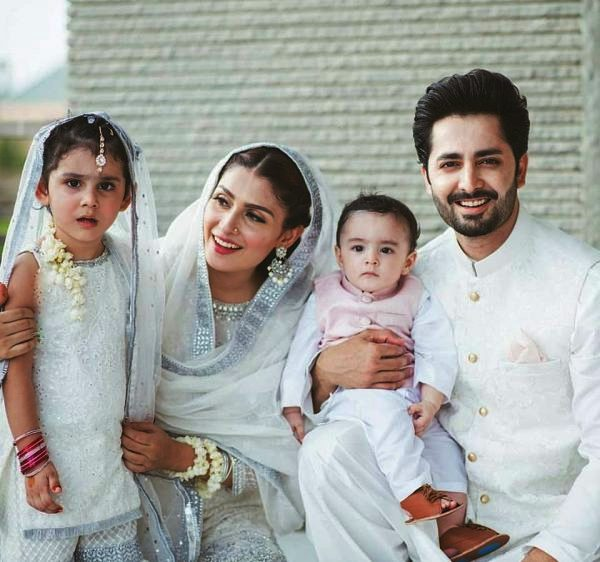 Celebrities with their kids on the 2nd day of Eid (17)