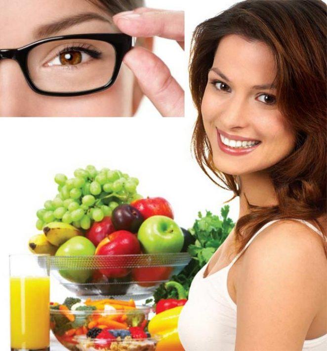 Diet improves vision better than improving sight
