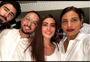Exclusive Iqra Aziz and Nausheen Shah in Nomi Ansari Iftar Party