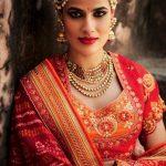 Indian Wedding Saree Trends 2018 (9)
