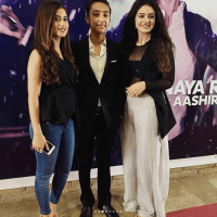 Komal Rizivi on Music Video Launch of Aashir Wajahat (4)