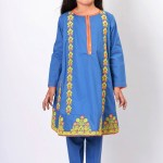 Teen Age Girls Eid Dresses Collection 2018 (18)