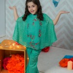Teen Age Girls Eid Dresses Collection 2018 (8)
