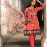 Embroidery Lawn Collection 2018 By Warda Kashmiri (10)