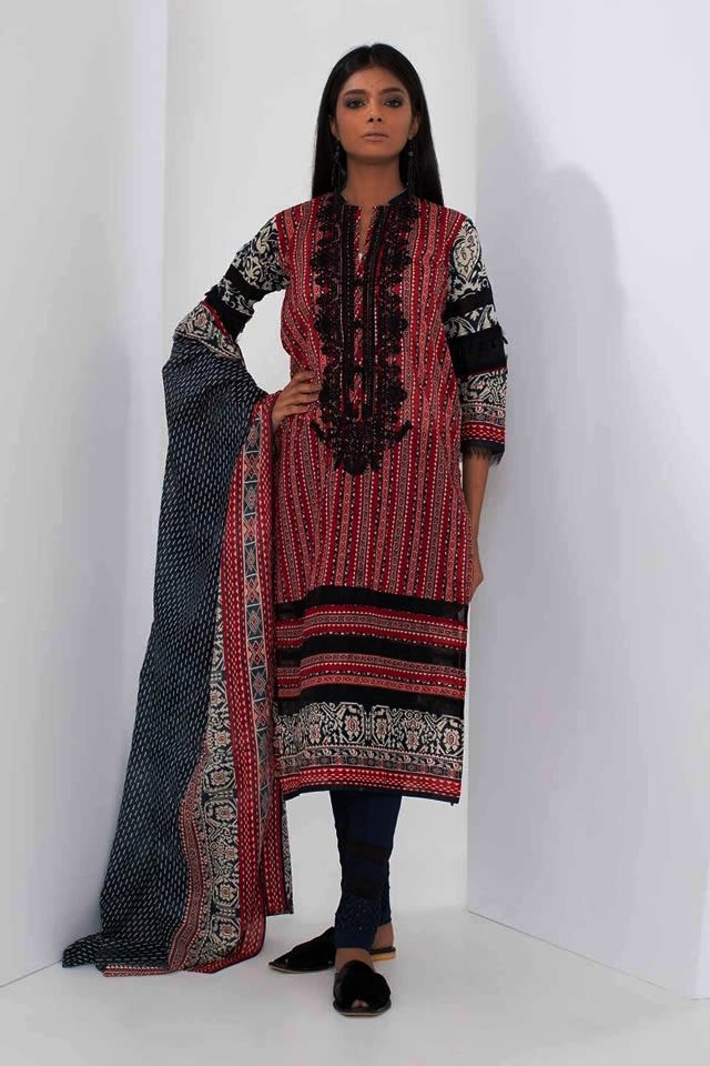 Midsummer 2018 Dresses Collection By Khaadi (1)