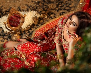 Pakistani Exclusive Red Bridal Dresses 2018 for Wedding
