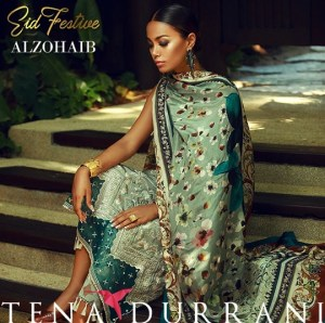 Festive Eid Lawn 2018 For Grabs By Tena Durrani (2)