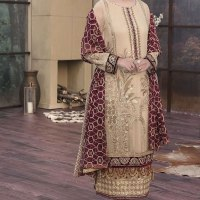 Women's Chiffon Embroidered Collection 2019 By Motifz 1