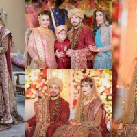 Saba Faisal's Son Salman Faisal Wedding Images