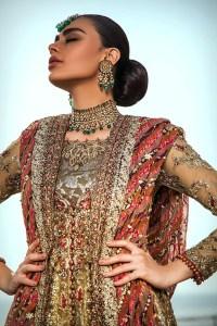 Bridal Dresses Collection Muhabbat 2019 Umsha By Uzma Babar (1)