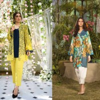 Gul Ahmed Les Morris Women's Eid Dresses Collection 2019