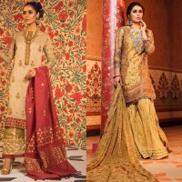Eid Festive Dresses Collection 2019 By Al Karam