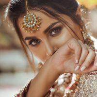 Anamta Couture Latest Bridal Photo Shoot of Actress Nimra Khan
