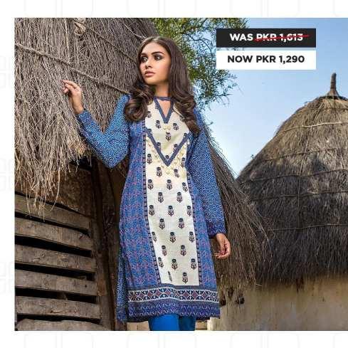 GulAhmed Women's Eid Dresses Collection 2020 (13)