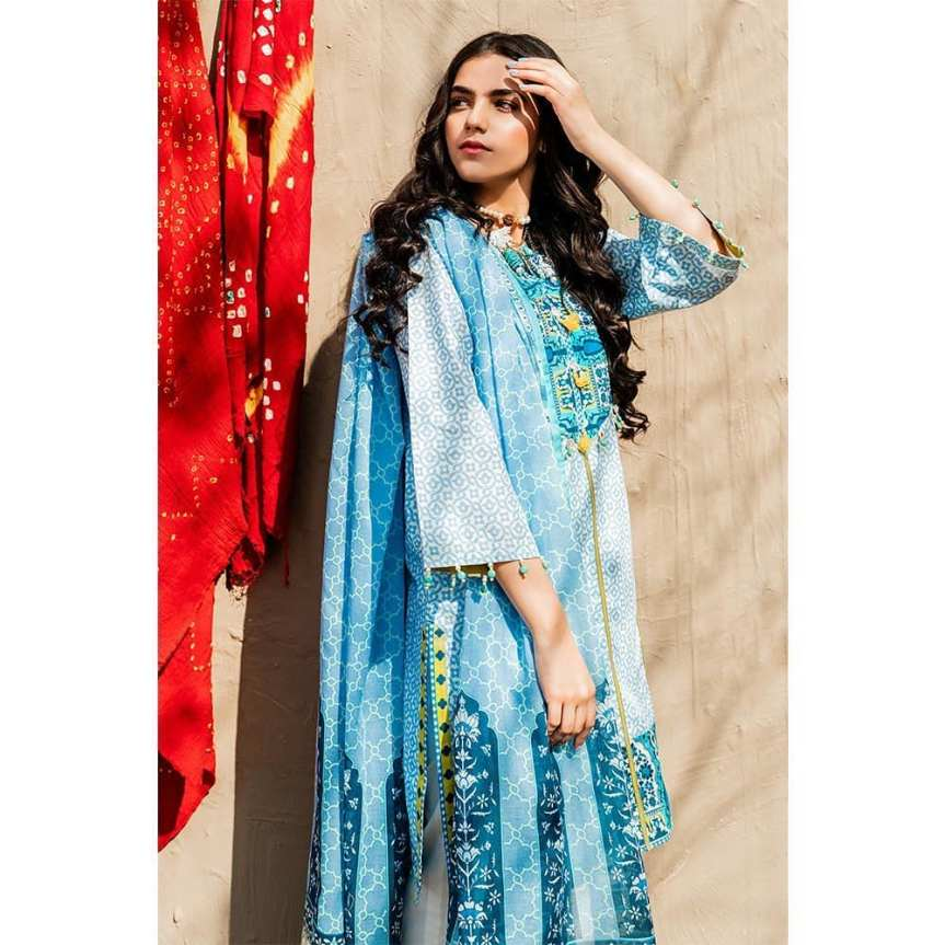 GulAhmed Women's Eid Dresses Collection 2020 (20)