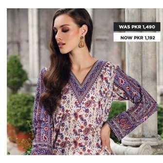 GulAhmed Women's Eid Dresses Collection 2020 (23)