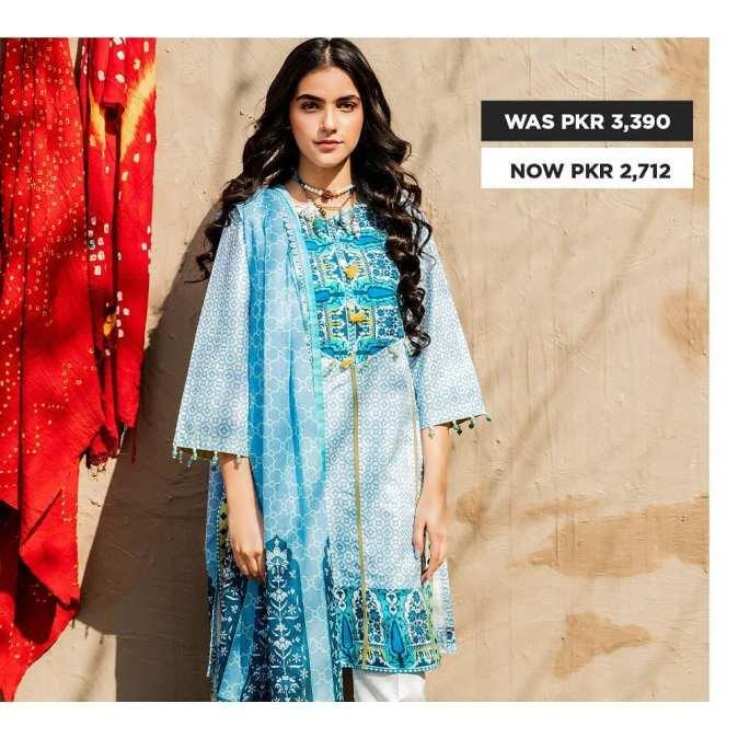 GulAhmed Women's Eid Dresses Collection 2020 (28)