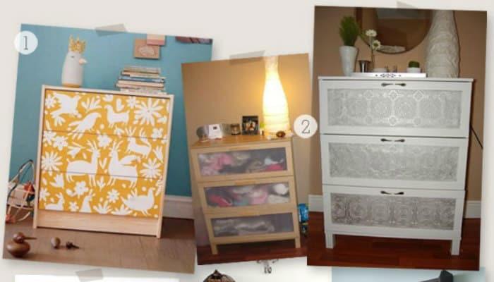 Idee arredo come personalizzare i mobili ikea con idee cheap and chic - Ikea soprammobili ...