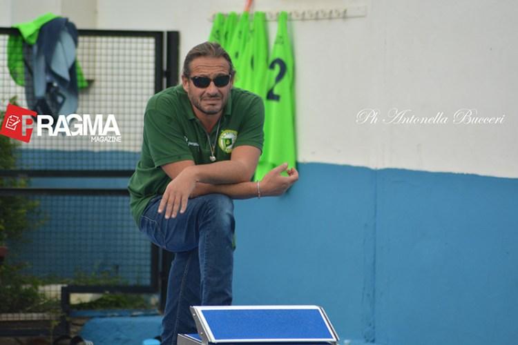 Stefano Piccardo, allenamento Ortigia
