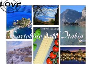 #iorestoacasa Cartoline dall'Italia